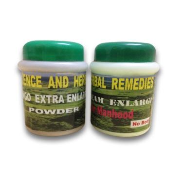 Entengo and Mulondo Penis Enlargement Cream and powder